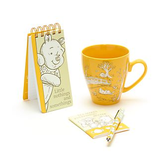 Disney Store Winnie the Pooh Notebook and Mug Gift Set