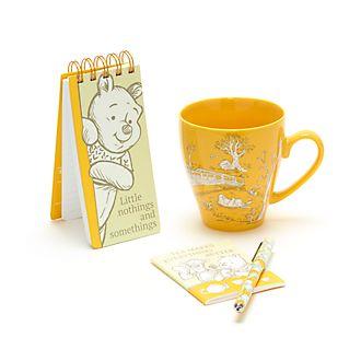 Disney Store - Winnie Puuh - Geschenkset aus Notizbuch und Becher