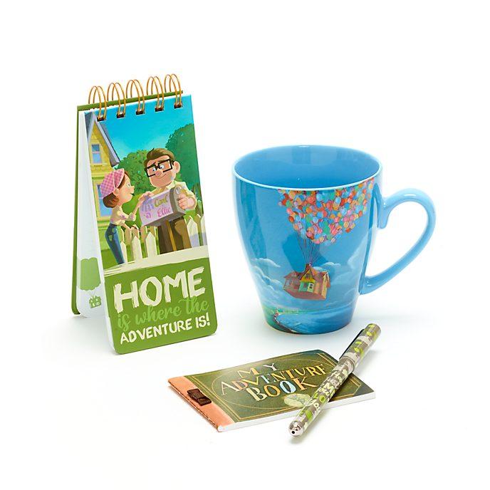 Disney Store Up Notebook and Mug Gift Set