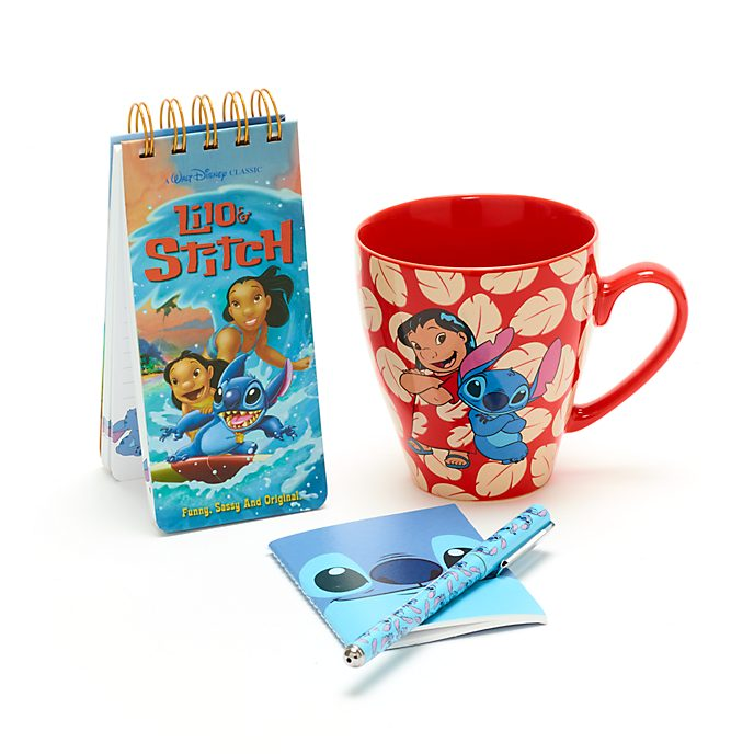 Set regalo quaderni e tazza Stitch Disney Store