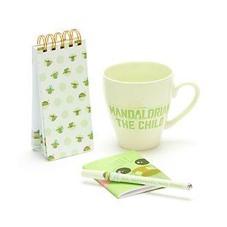 Disney Store The Child Notebook and Mug Gift Set
