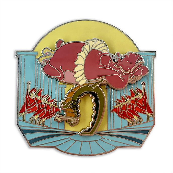 Disney Store Pin's Hyacinth Hippo et alligators, Fantasia