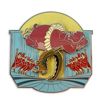 Disney Store Fantasia Hyacinth Hippo and Alligators Pin