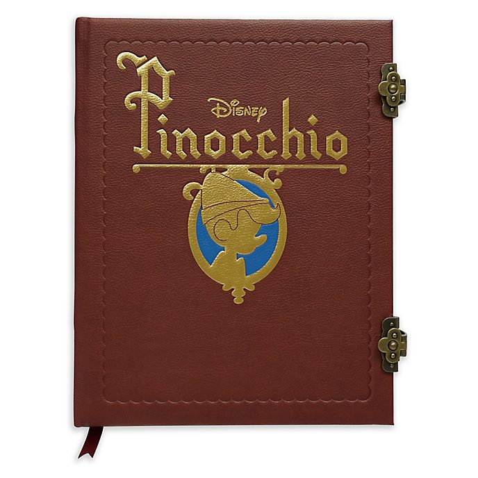 Taccuino A4 Replica del libro Pinocchio Disney Store