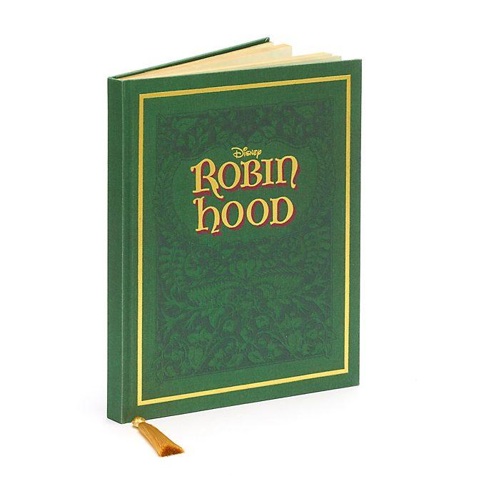 Taccuino A4 Replica del libro Robin Hood Disney Store