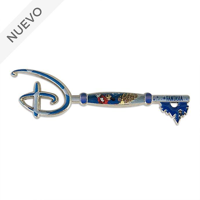 Pin llave de Opening Ceremony, Fantasía, 80.º aniversario, Disney Store