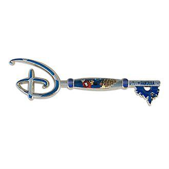 Disney Store - Fantasia - Anstecknadel mit Eröffnungszeremonie-Schlüssel zum 80. Geburtstag