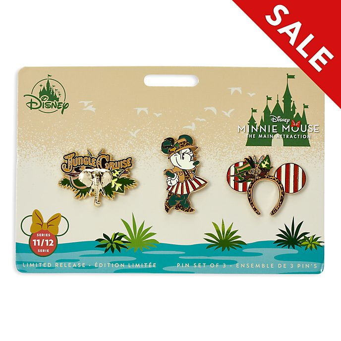 Disney Store Minnie Mouse The Main Attraction Pin Set, 11 of 12