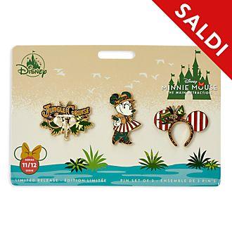 Set di pin Minnie Mouse The Main Attraction Minni Disney Store, 11 di 12