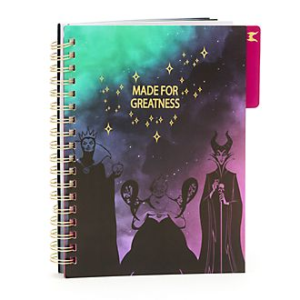 Disney Store Disney Villains Notebook
