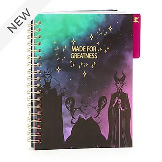 Disney Store Disney Villains Notebook
