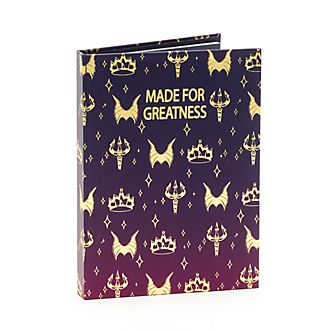 Disney Store Disney Villains Notebook and Sticky Notes Set