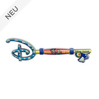 Disney Store - Toy Story - Anstecknadel mit Eröffnungszeremonie-Schlüssel zum 25.Geburtstag