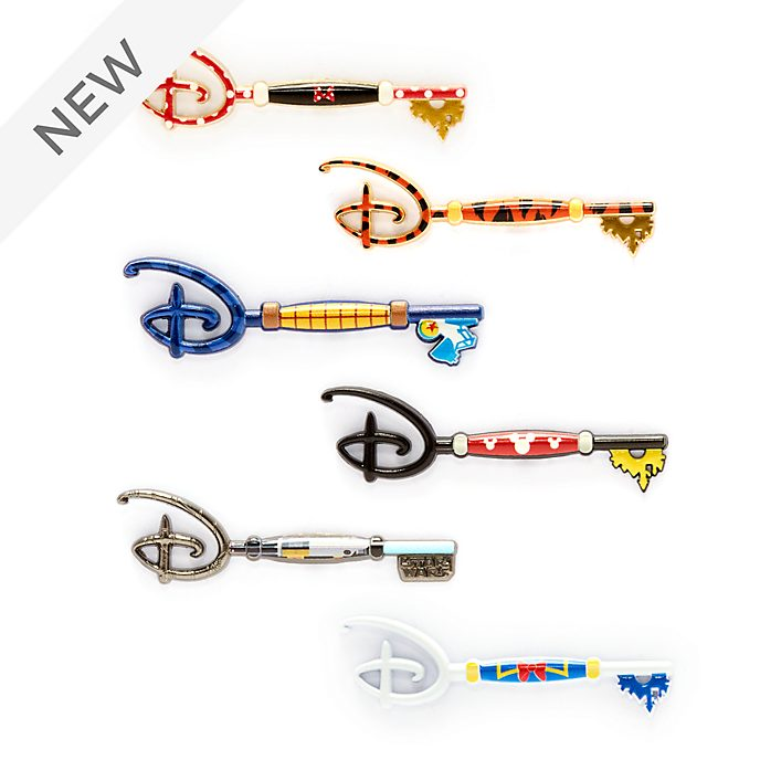 Disney Store Mystery Collectible Key Pin