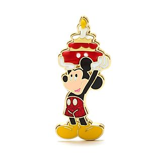 Pin cumpleaños Mickey Mouse, Disney Store