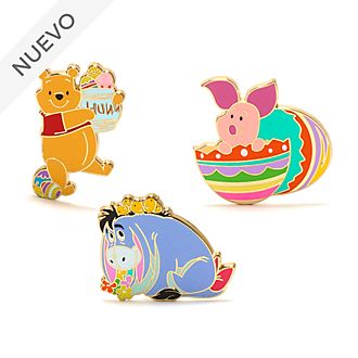 Set pins Winnie The Pooh Pascua, Disney Store