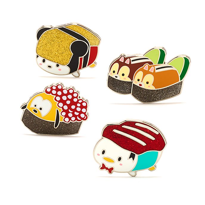 Disney Store Mickey and Friends Sushi Pin Set