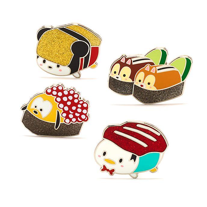 Set pins sushi Mickey y sus amigos, Disney Store