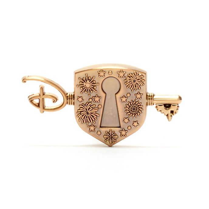 Pin llave y candado, Disney Store