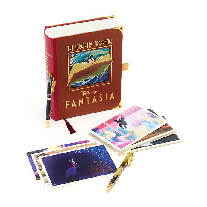 Disney Store Fantasia Postcards and Pens Set
