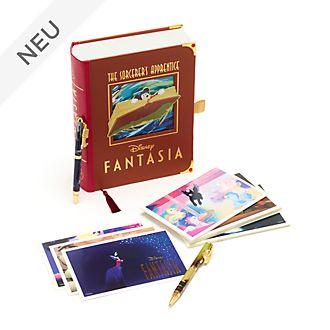 Disney Store - Fantasia - Set aus Postkarten und Kugelschreibern