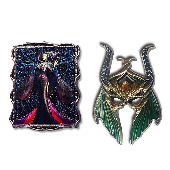 Set pins Maléfica, Disney Designer Collection, Disney Store