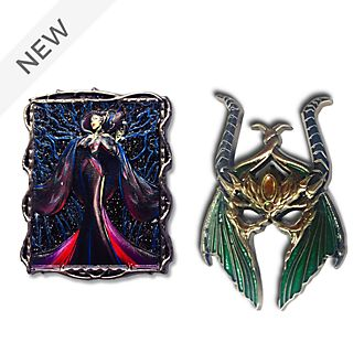 Disney Store Maleficent Disney Designer Collection Pin Set