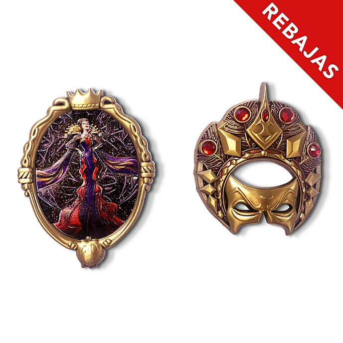 Set pins Reina Malvada, Disney Designer Collection, Disney Store