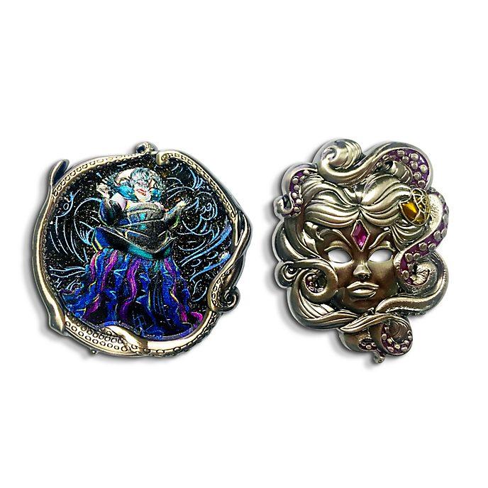 Disney Store Ursula Disney Designer Collection Pin Set