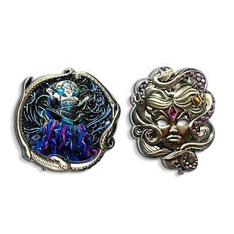 Set pins Úrsula, Disney Designer Collection, Disney Store