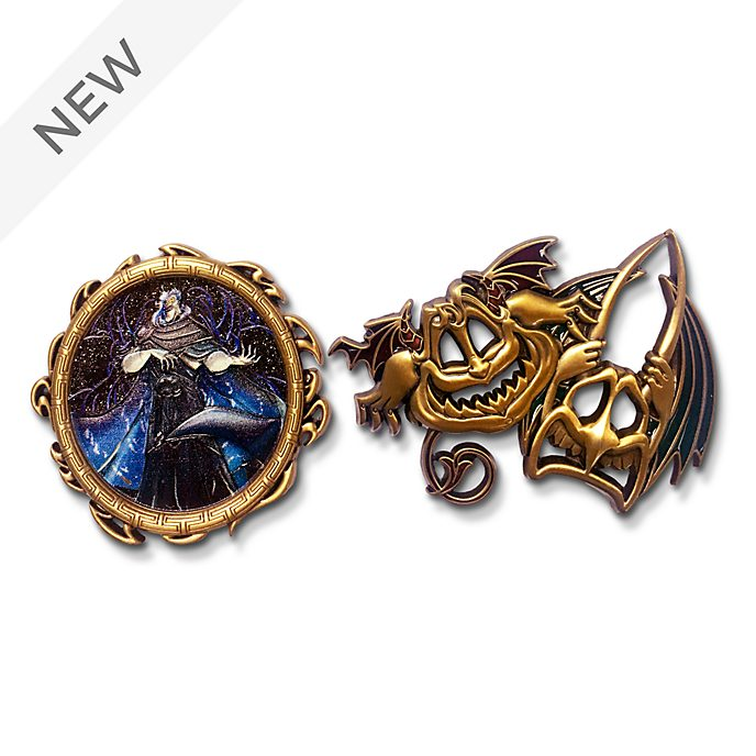 Disney Store Hades Disney Designer Collection Pin Set