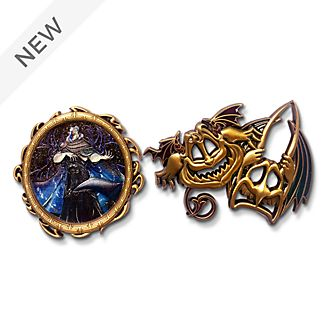 Disney Store Hades Disney Designer Collection Pin Set