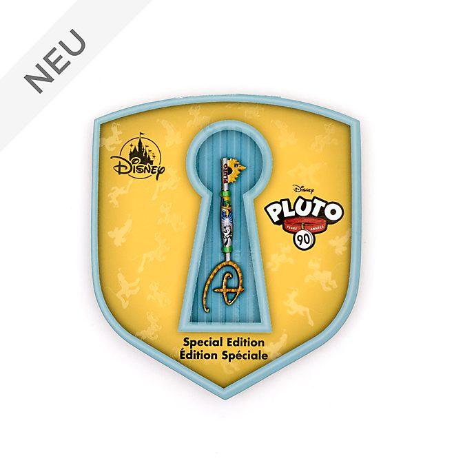 Disney Store - Pluto - Anstecknadel mit Eröffnungszeremonie-Schlüssel zum 90.Geburtstag