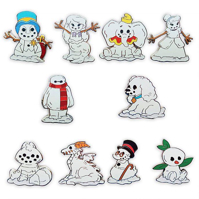 Disney Store Pin's mystère Bonhomme de neige Disney