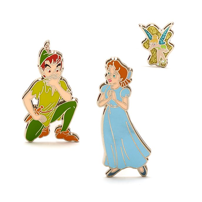 Disney Store Peter Pan Pin Set