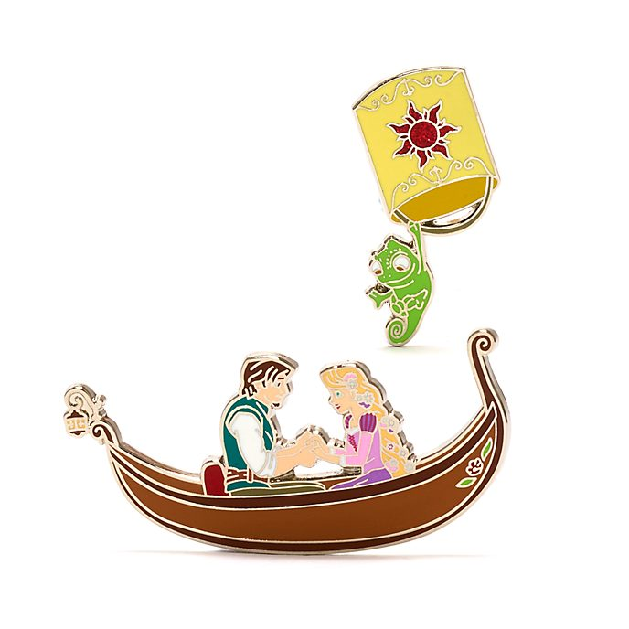 Disney Store Tangled Pin Set