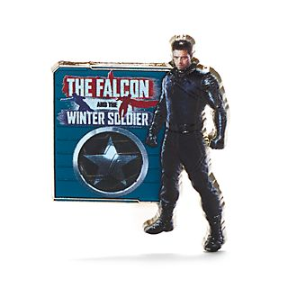Disney Store The Winter Soldier Pin, The Falcon and The Winter Soldier