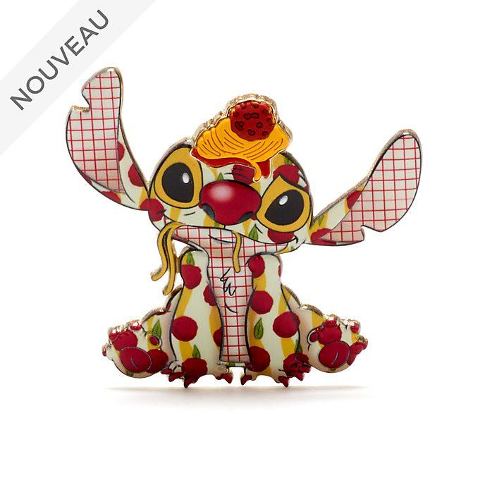 Disney Store Pin's broche La Belle et le Clochard, Stitch Crashes Disney,2sur12