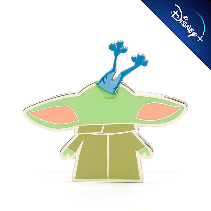 Disney Store Grogu with Sorgan Frog Pin, Star Wars: The Mandalorian