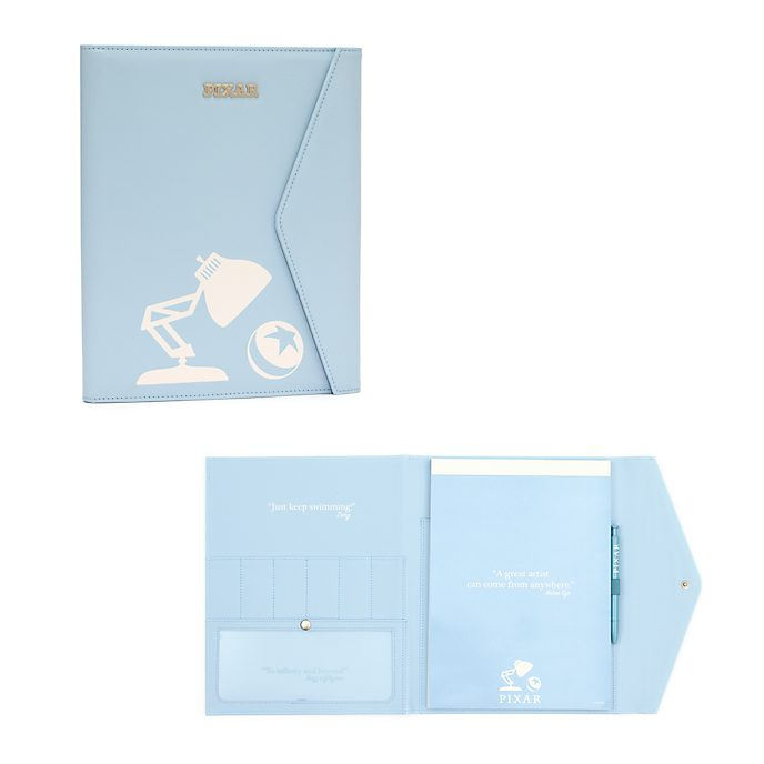 Disney Store Padfolio World of Pixar