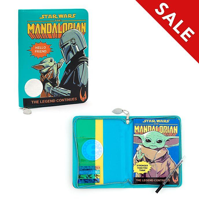 Disney Store Star Wars: The Mandalorian Padfolio