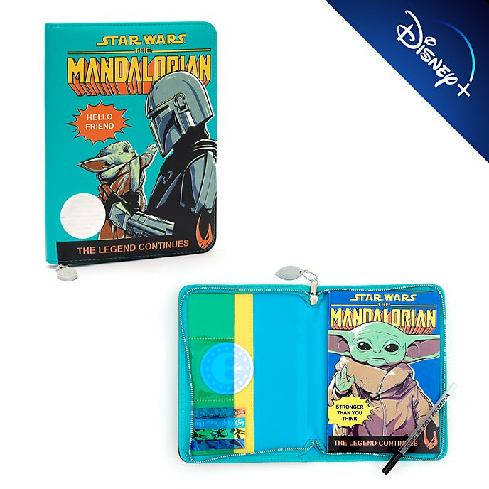 Disney Store Star Wars: The Mandalorian Padfolio