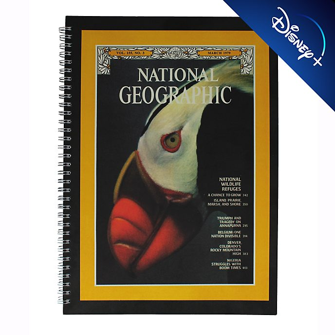 Cuaderno A4 National Geographic, Disney Store