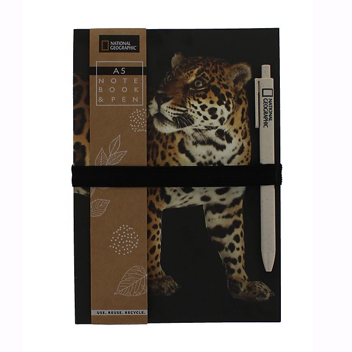 Disney Store National Geographic A5 Notebook and Pen