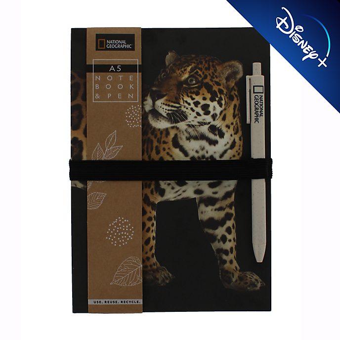 Cuaderno A5 y bolígrafo National Geographic, Disney Store