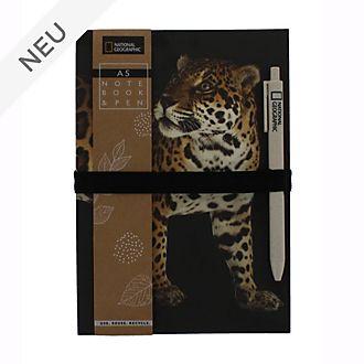 Disney Store - National Geographic - DINA5-Notizbuch und Stift