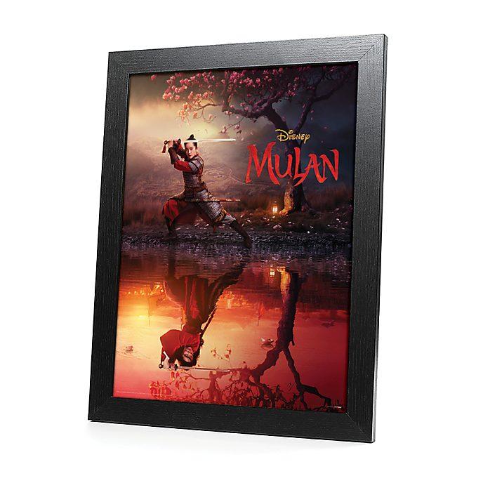 Pyramid Mulan Framed Print