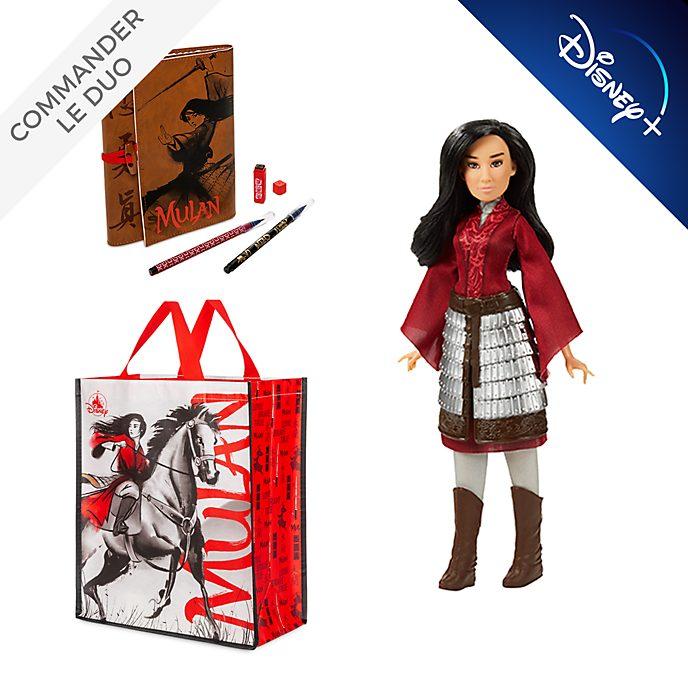 Disney Store Set Mulan