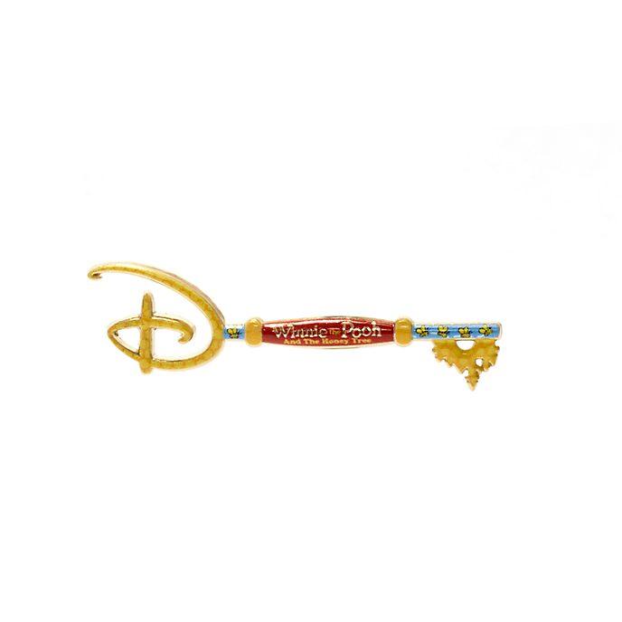 Disney Store - Winnie Puuh und der Honigbaum - Anstecknadel mit Eröffnungszeremonie-Schlüssel