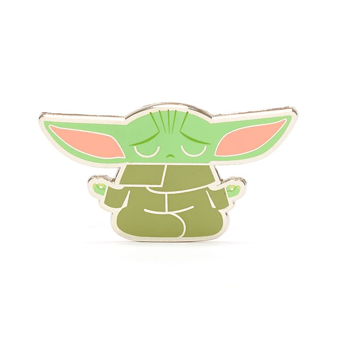 Disney Store Grogu Zen Pin, Star Wars: The Mandalorian